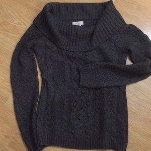 Glimmer by J.J. BasicsSlate Grey Sweater size M